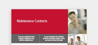 CDW Maintenance Contracts Brief